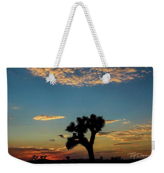 Joshua Sunset Weekender Tote Bag