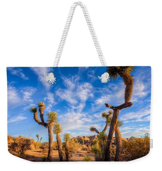 Joshua Tree Dawn Weekender Tote Bag