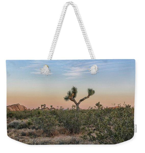 Joshua Tree Evening Weekender Tote Bag