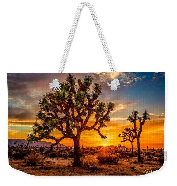 Joshua Tree Glow Weekender Tote Bag