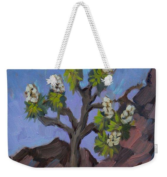 Joshua Tree In Bloom Weekender Tote Bag