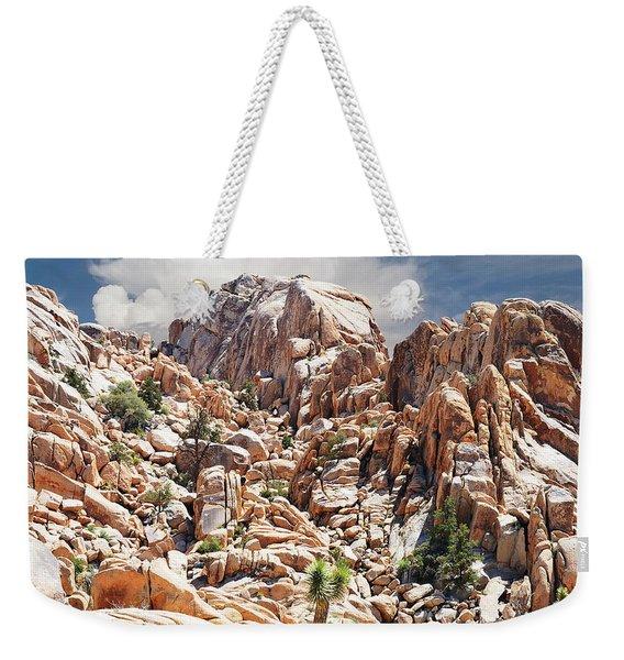 Joshua Tree National Park - Natural Monument Weekender Tote Bag