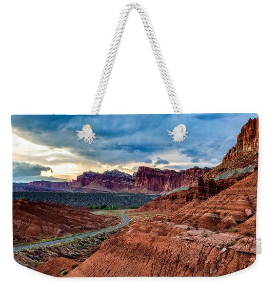 Journey Through Capitol Reef Weekender Tote Bag
