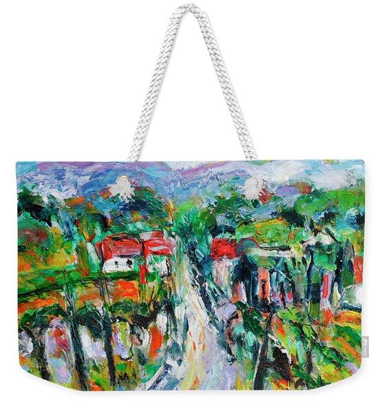 Journey Through The Vines Weekender Tote Bag