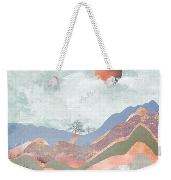 Journey To The Clouds Weekender Tote Bag