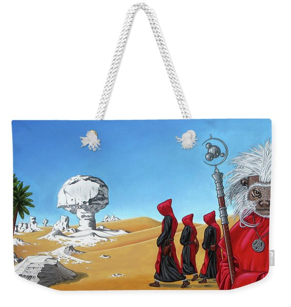 Journey To The White Desert Weekender Tote Bag