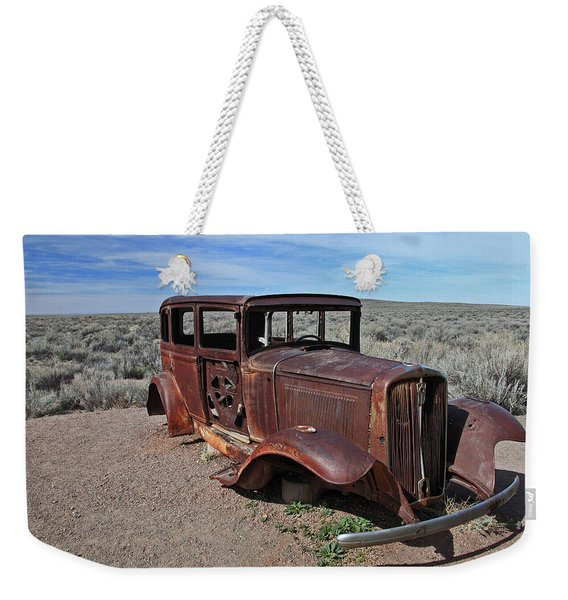 Journey's End Weekender Tote Bag