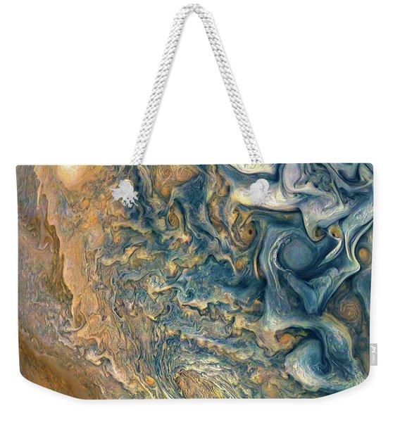 Jovian Abstract 2 Weekender Tote Bag