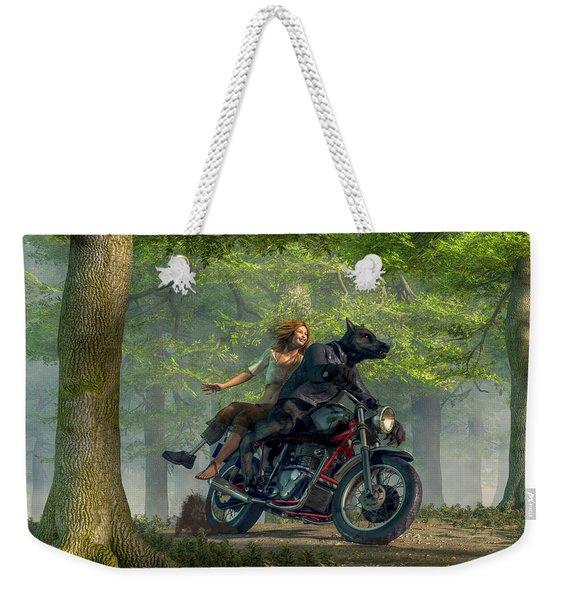 Joy Ride Weekender Tote Bag