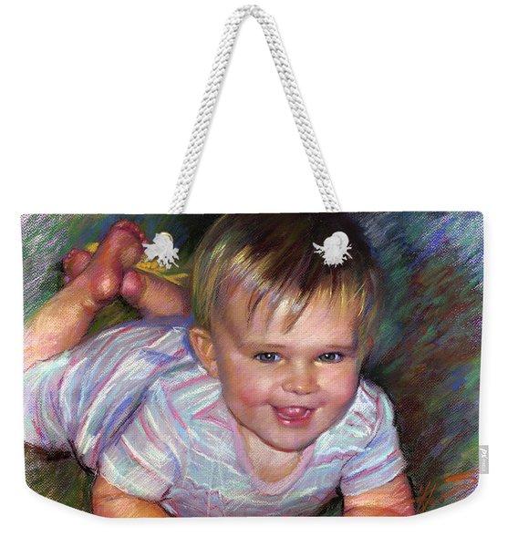 Joyful Life Weekender Tote Bag
