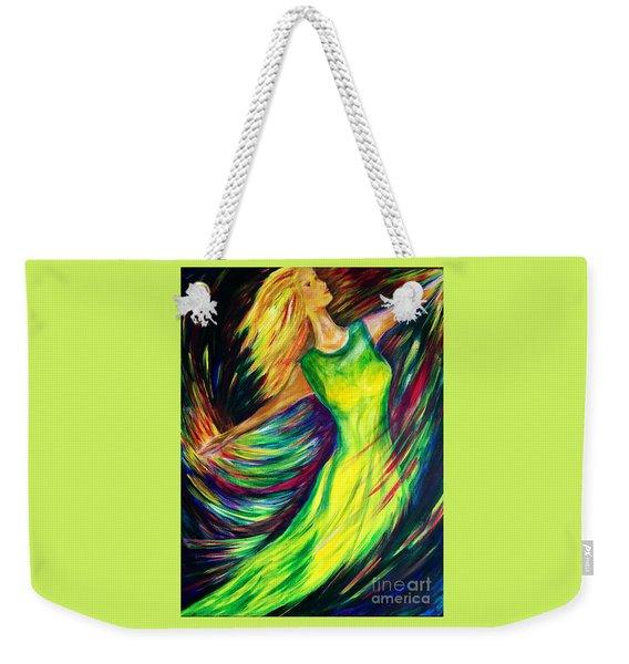 Joy's Dance Weekender Tote Bag