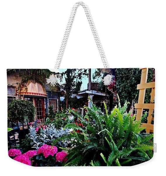 Joys Patio Weekender Tote Bag
