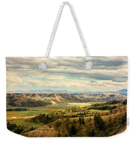 Judith River Breaks Weekender Tote Bag