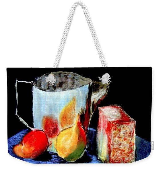 Jug With Fruit Weekender Tote Bag