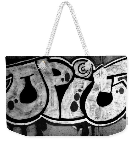 Juicy Black Pie Weekender Tote Bag