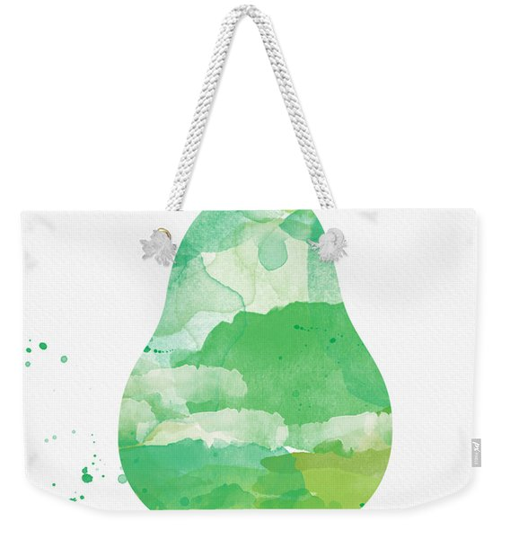 Juicy Pear Weekender Tote Bag