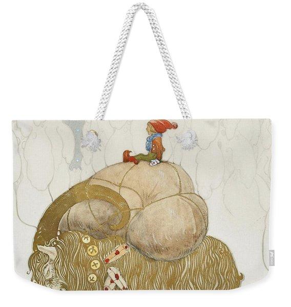 Julbock Weekender Tote Bag