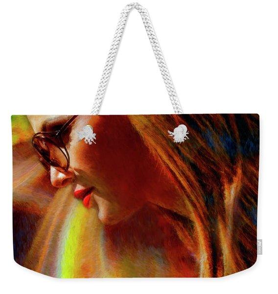 Julee Ross Carbon Girls Weekender Tote Bag