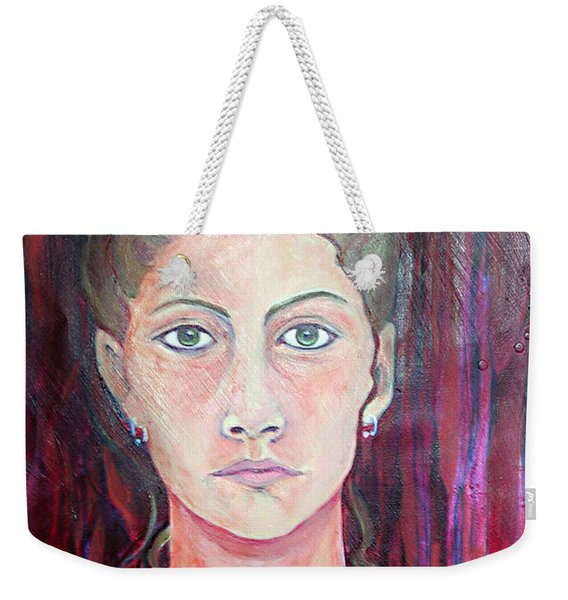 Julie Self Portrait Weekender Tote Bag