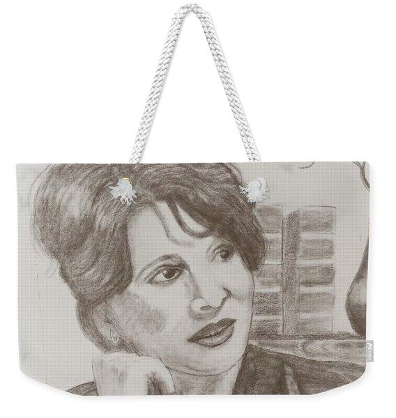 Juliette Binoche Weekender Tote Bag