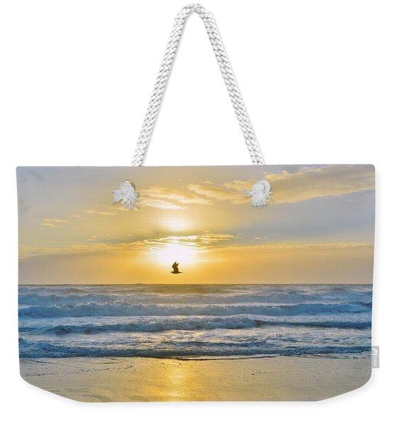 July 30 Sunrise Nh Weekender Tote Bag