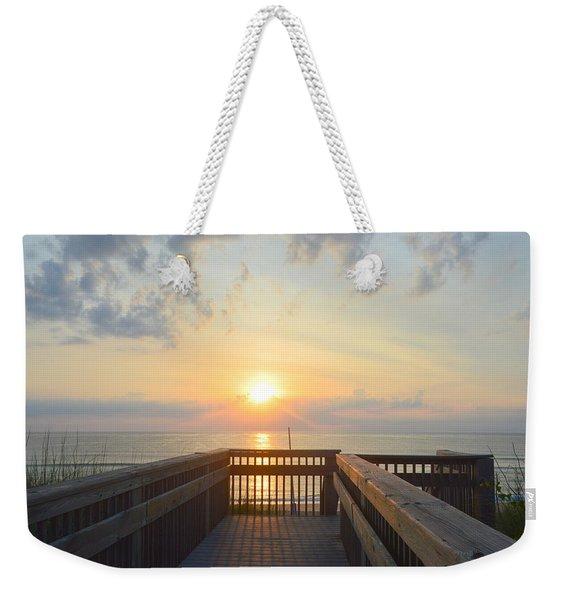 June 17th Sunrise Weekender Tote Bag