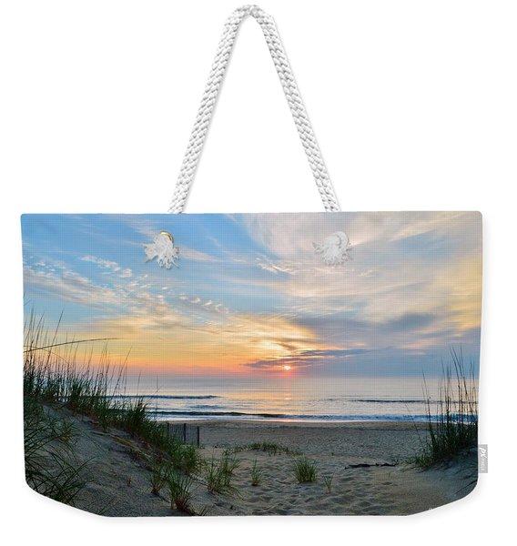 June 2, 2017 Sunrise Weekender Tote Bag
