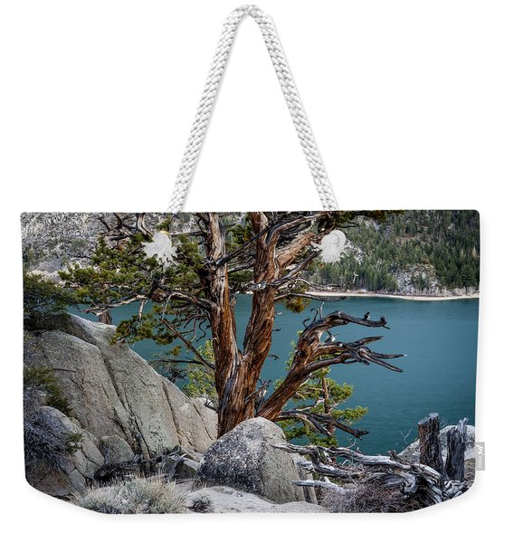 June Lake Juniper Weekender Tote Bag
