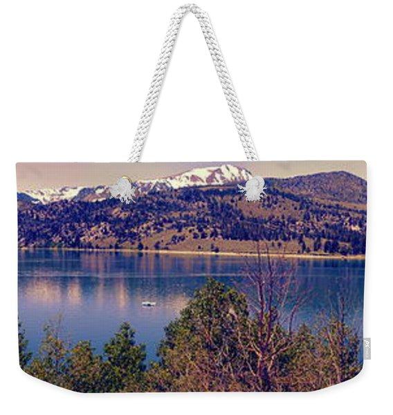 June Lake Panorama Weekender Tote Bag