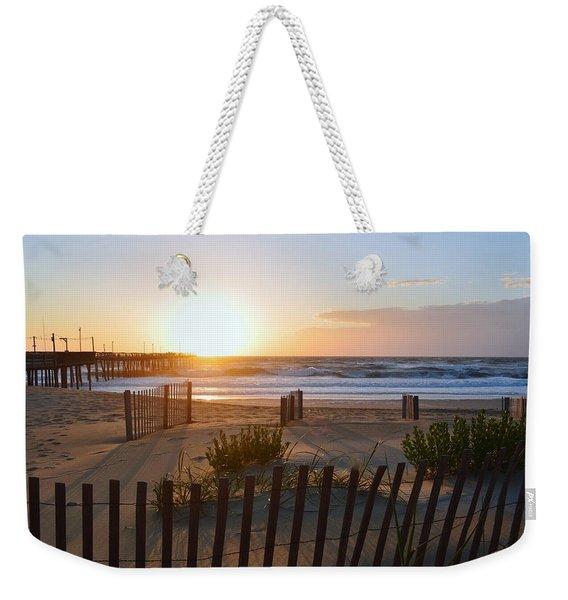 June Sunrise S. Nags Head Weekender Tote Bag