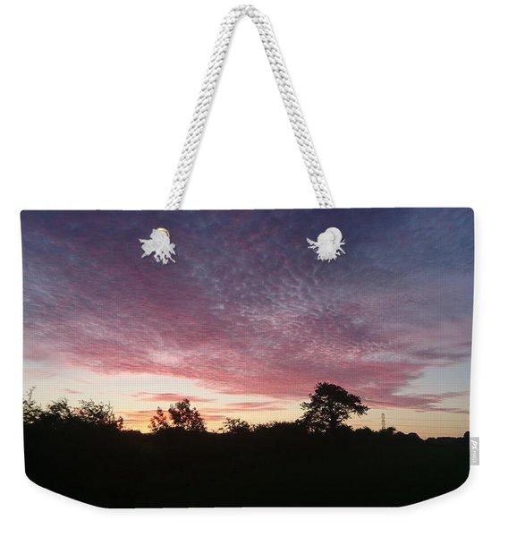 June Sunrise Weekender Tote Bag