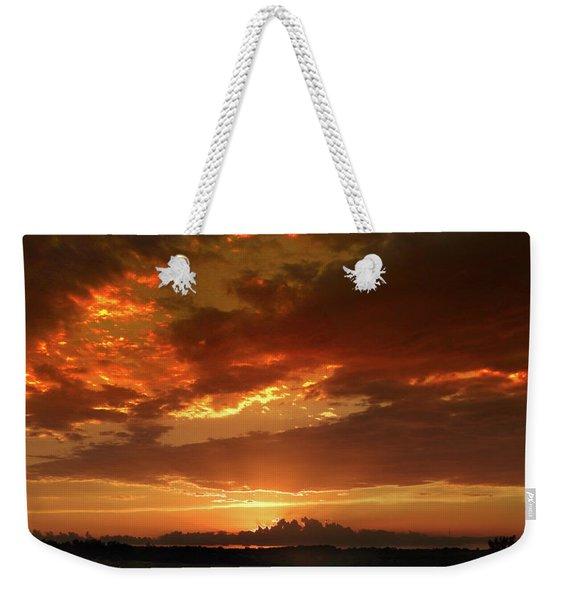 June Sunset Weekender Tote Bag