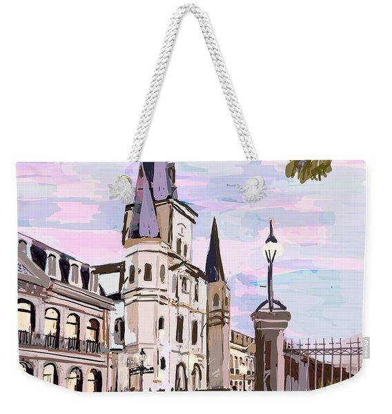 June, Where In The World Is My Elliptigo? Weekender Tote Bag