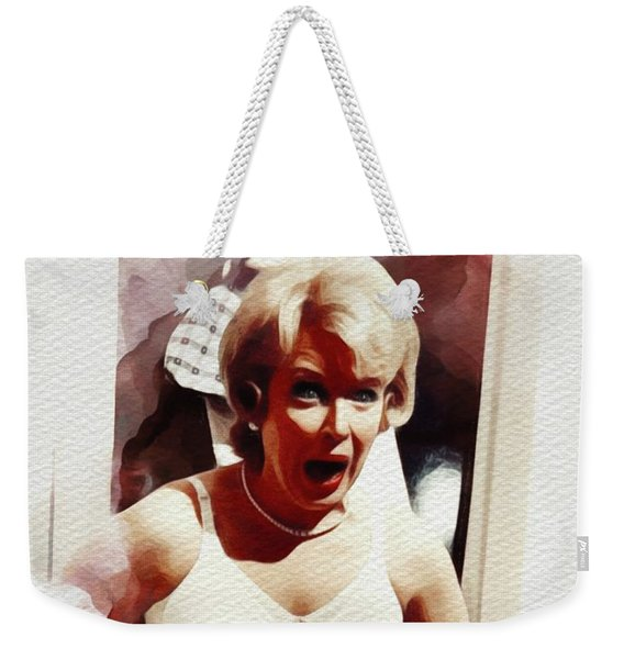 June Whitfield, Carry On Films Cast Weekender Tote Bag
