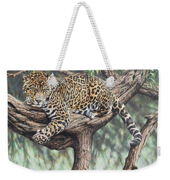 Jungle Outlook Weekender Tote Bag