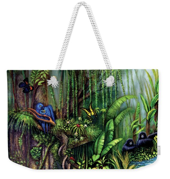 Jungle Talk Weekender Tote Bag