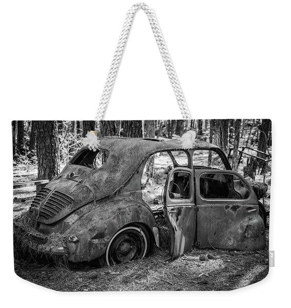 Junked Cars Weekender Tote Bag