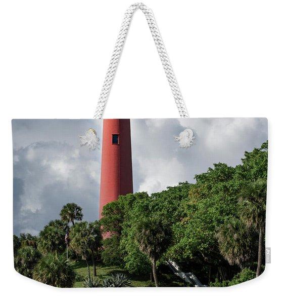 Jupiter Inlet Lighthouse Weekender Tote Bag