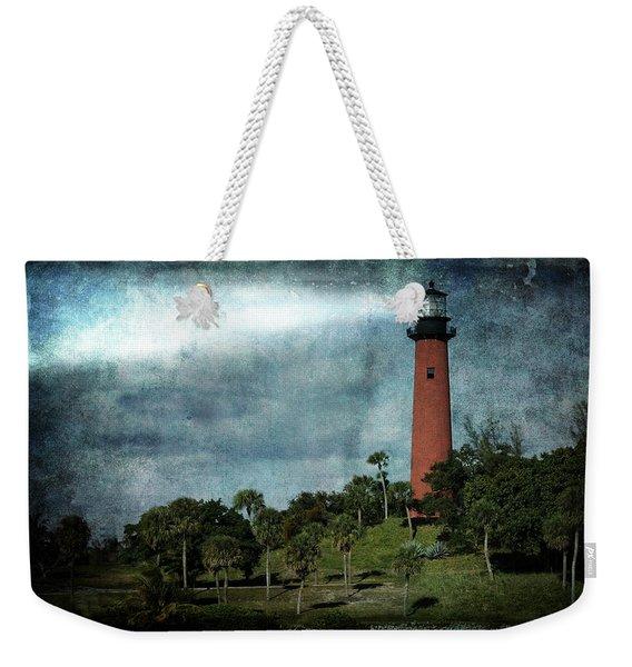 Jupiter Lighthouse-2a Weekender Tote Bag