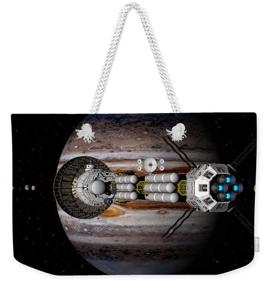 Jupiter Looming Weekender Tote Bag