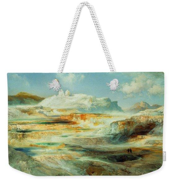 Jupiter Terrace  Yellowstone Weekender Tote Bag