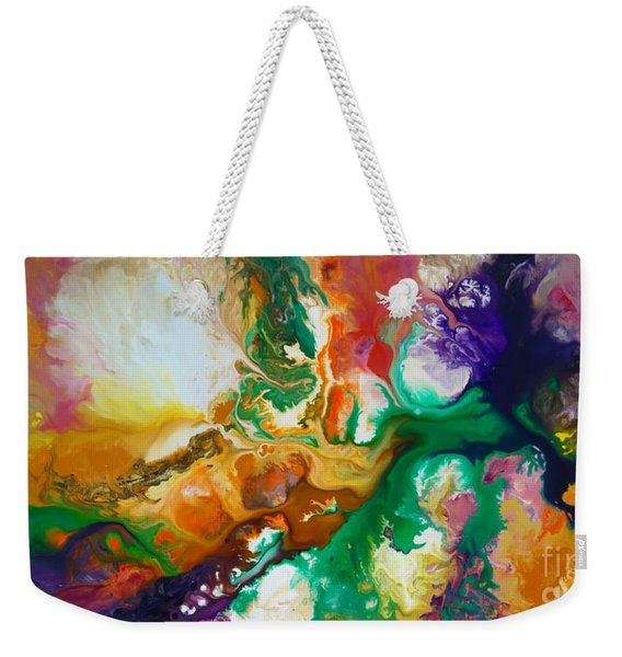 Jupiters Moons Weekender Tote Bag