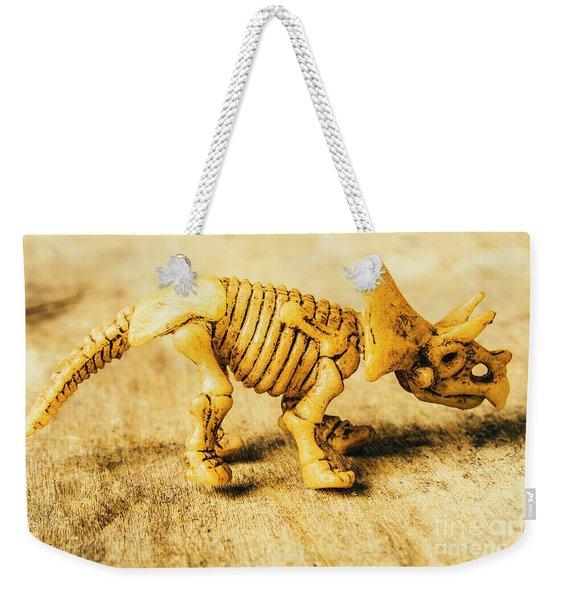 Jurassic Toy Triceratops Weekender Tote Bag