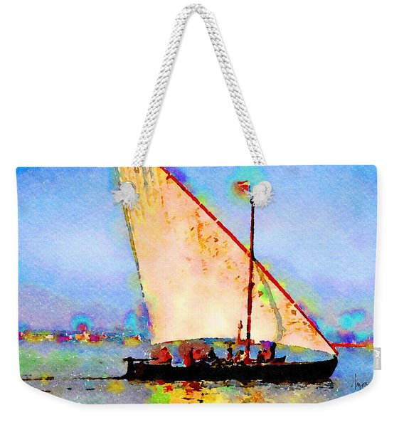 Just A Lazy Afternoon Weekender Tote Bag
