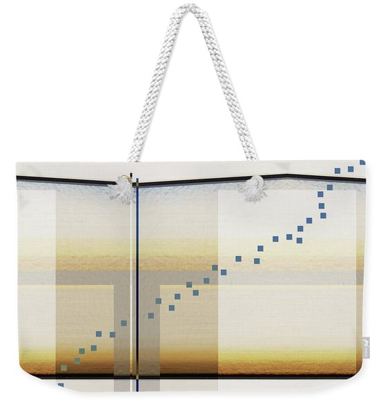 Just A Little Off Course Weekender Tote Bag