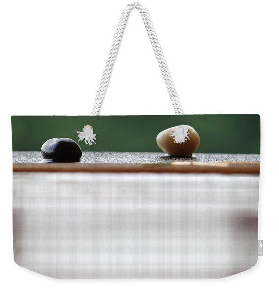 Just A Stones Throw Away Weekender Tote Bag