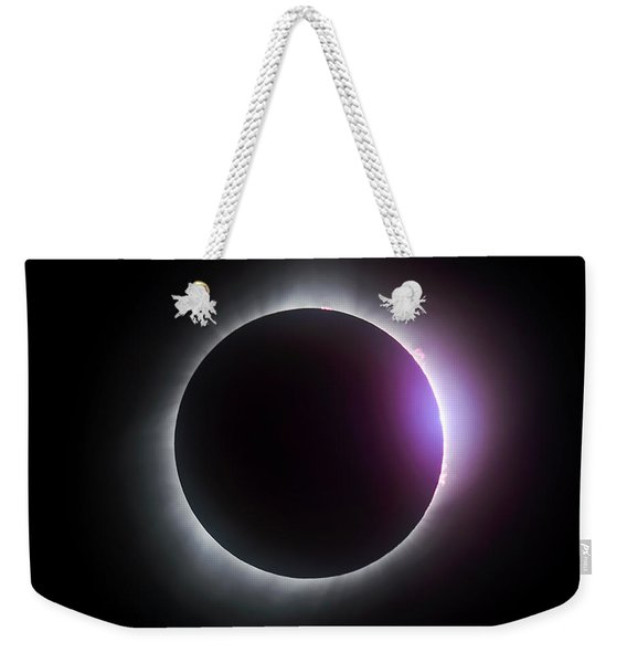 Just After Totality - Solar Eclipse August 21, 2017 Weekender Tote Bag