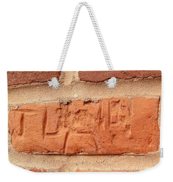 Just Another Brick In The Wall Weekender Tote Bag