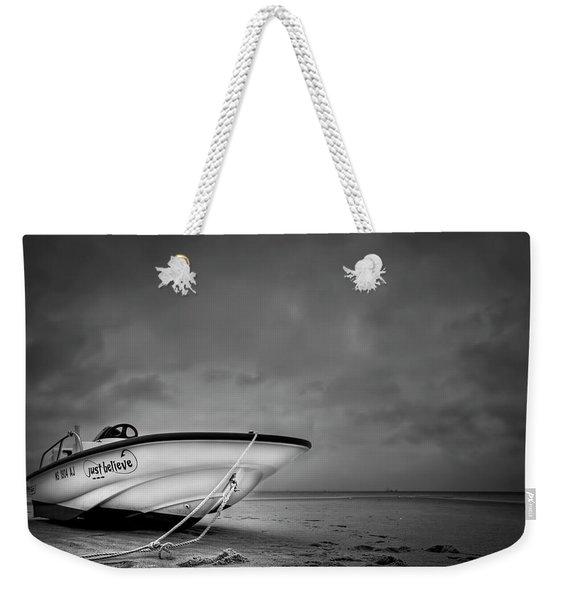 Just Believe Weekender Tote Bag