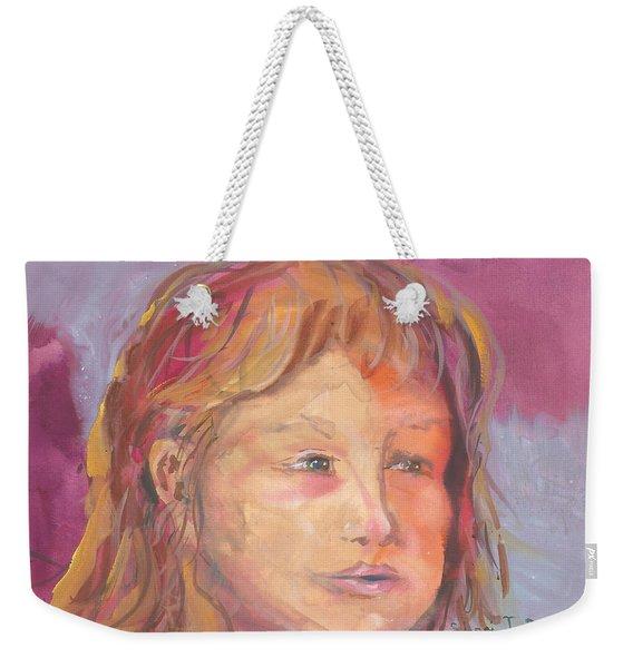 Just Breathe Weekender Tote Bag